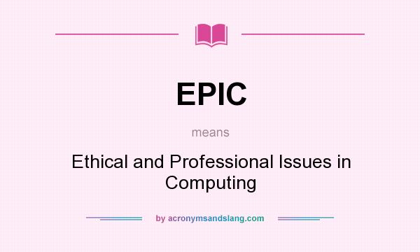 professional issues in computing Description ethical, legal and professional issues in computing provides a comprehensive treatment of the issues facing computer professionals in today's modern, working environment.