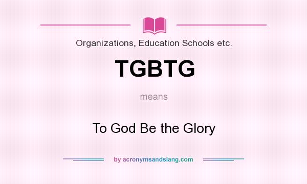 Glory definition