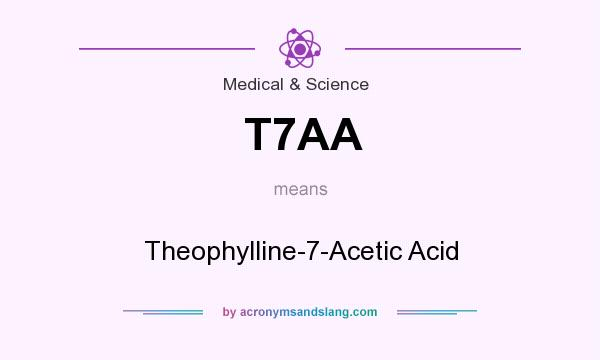 What does T7AA mean? It stands for Theophylline-7-Acetic Acid