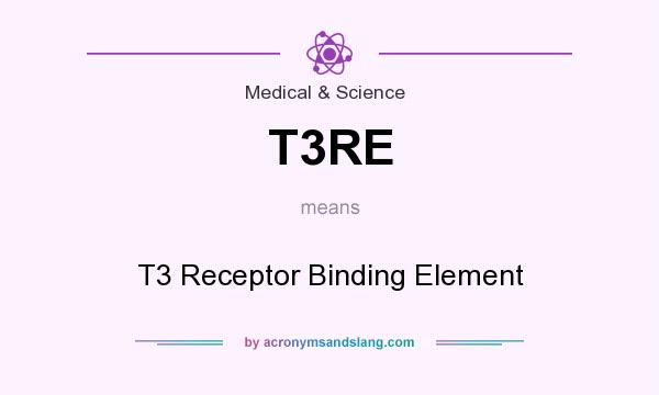 What does T3RE mean? It stands for T3 Receptor Binding Element