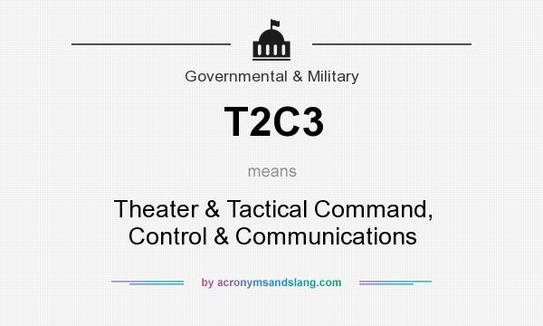 What does T2C3 mean? It stands for Theater & Tactical Command, Control & Communications