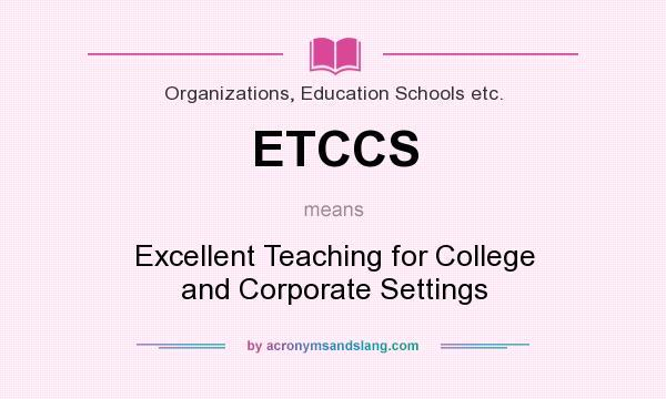 excellent education definition