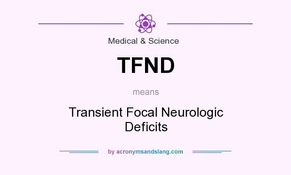 What Does Tfnd Mean Definition Of Tfnd Tfnd Stands
