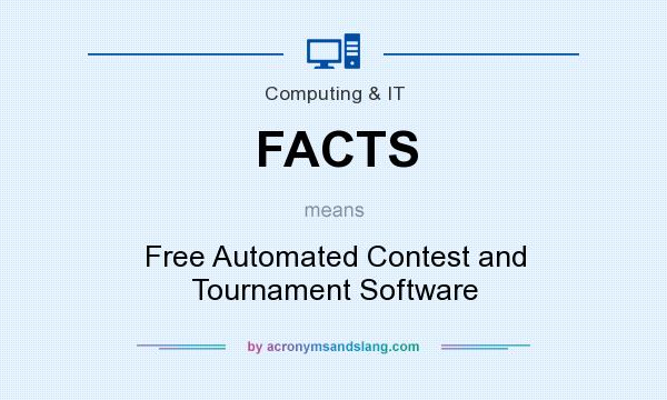 What does FACTS mean? It stands for Free Automated Contest and Tournament Software