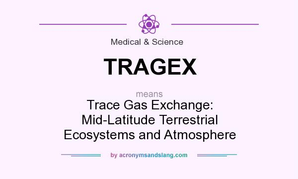 What does TRAGEX mean? It stands for Trace Gas Exchange: Mid-Latitude Terrestrial Ecosystems and Atmosphere