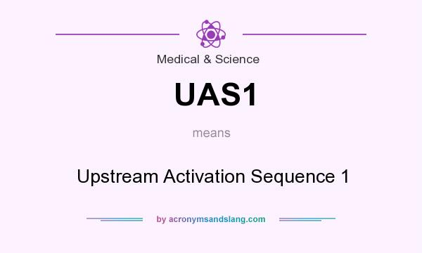 What does UAS1 mean? It stands for Upstream Activation Sequence 1