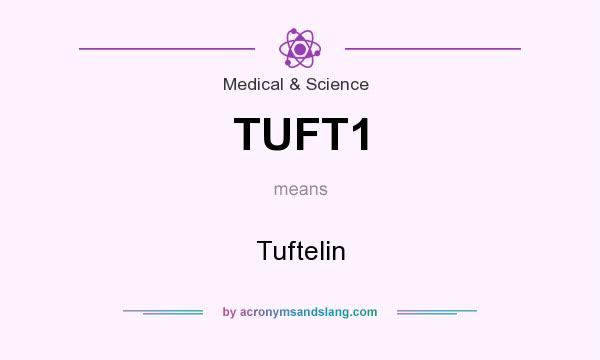 What does TUFT1 mean? It stands for Tuftelin