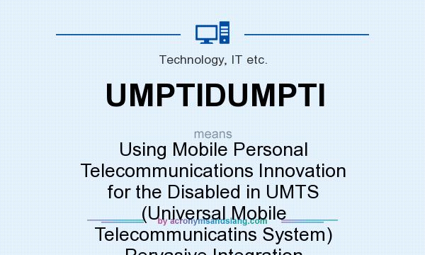 What does UMPTIDUMPTI mean? - Definition of UMPTIDUMPTI