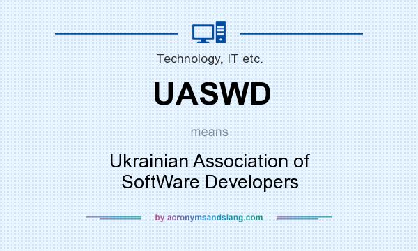 What does UASWD mean? It stands for Ukrainian Association of SoftWare Developers