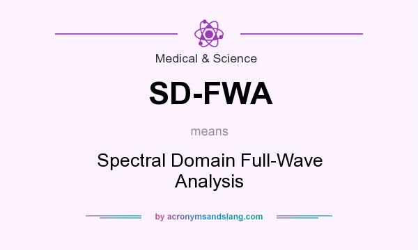 What does SD-FWA mean? It stands for Spectral Domain Full-Wave Analysis