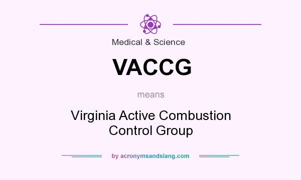 What does VACCG mean? It stands for Virginia Active Combustion Control Group