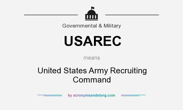 USAREC - United States Army Recruiting Command in Governmental ...