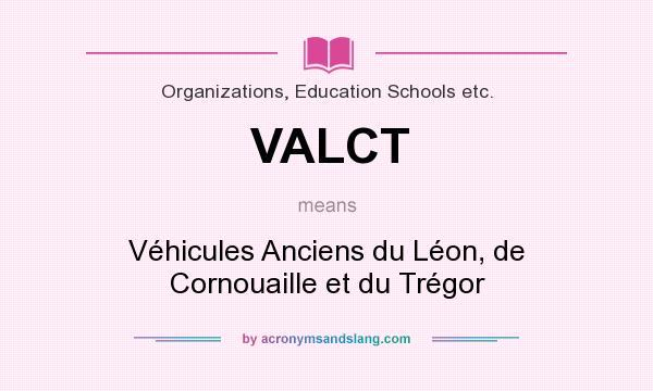 What does VALCT mean? It stands for Véhicules Anciens du Léon, de Cornouaille et du Trégor