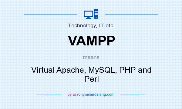 What does VAMPP mean? It stands for Virtual Apache, MySQL, PHP and Perl