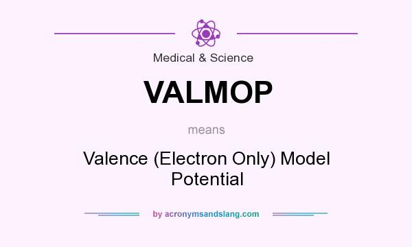 What does VALMOP mean? It stands for Valence (Electron Only) Model Potential