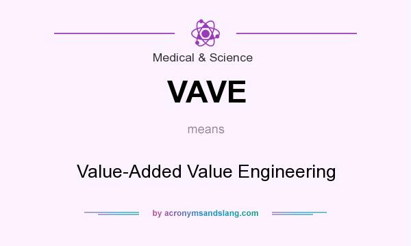 What does VAVE mean? It stands for Value-Added Value Engineering