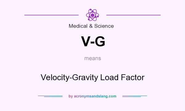 What does V-G mean? It stands for Velocity-Gravity Load Factor