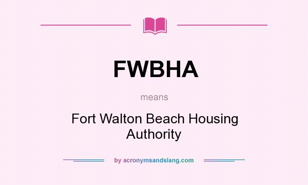 fwbha  fort walton beach housing authority in  by, Beach House/