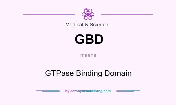What does GBD mean? It stands for GTPase Binding Domain