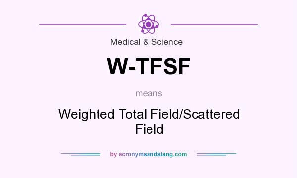 What does W-TFSF mean? It stands for Weighted Total Field/Scattered Field