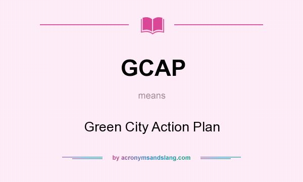 what is the meaning of green city