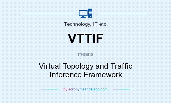 What does VTTIF mean? It stands for Virtual Topology and Traffic Inference Framework