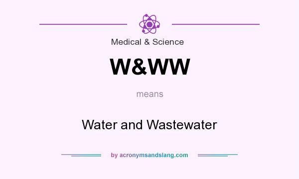 What does W&WW mean? It stands for Water and Wastewater