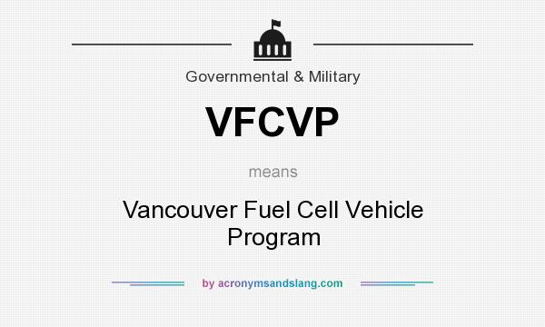 What does VFCVP mean? - Definition of VFCVP - VFCVP stands