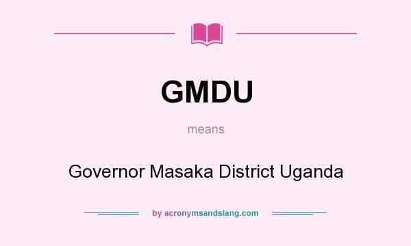Gmdu Governor Masaka District Uganda By Acronymsandslang Com