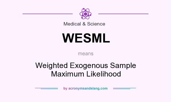 What does WESML mean? - Definition of WESML - WESML stands