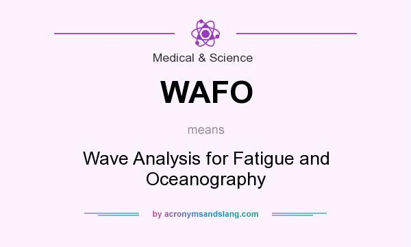What does WAFO mean? It stands for Wave Analysis for Fatigue and Oceanography
