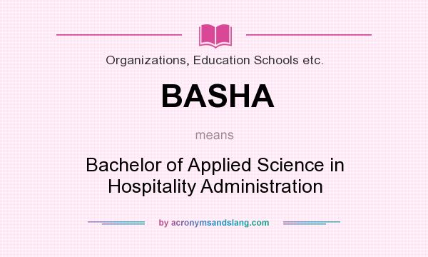 What does basha mean definition of basha basha stands for Bachelor definition