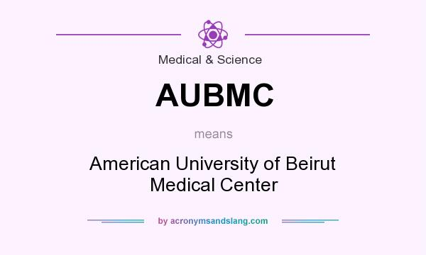 AUBMC - American University of Beirut Medical Center in