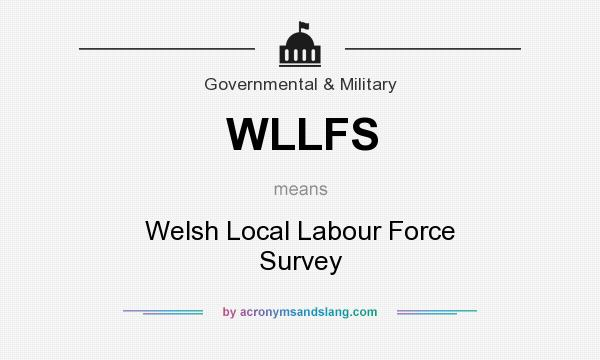 What does WLLFS mean? It stands for Welsh Local Labour Force Survey