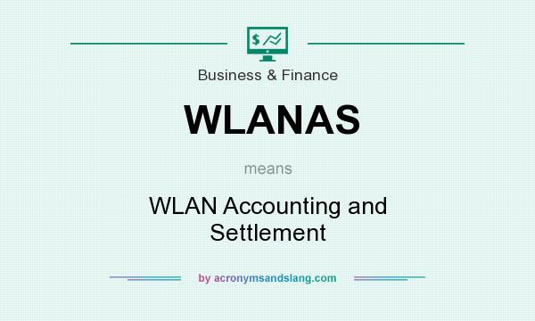 What does WLANAS mean? It stands for WLAN Accounting and Settlement