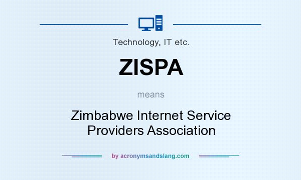 What does ZISPA mean? It stands for Zimbabwe Internet Service Providers Association