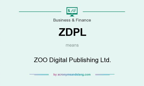 What does ZDPL mean? It stands for ZOO Digital Publishing Ltd.