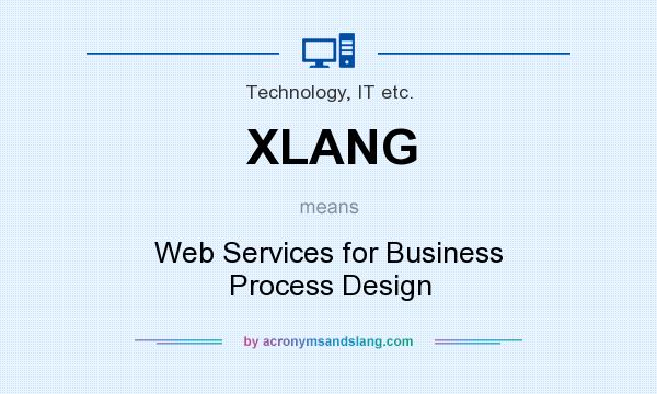 What does XLANG mean? It stands for Web Services for Business Process Design