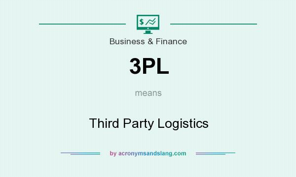 What does 3PL mean? It stands for Third Party Logistics