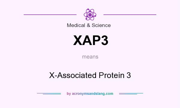 What does XAP3 mean? It stands for X-Associated Protein 3
