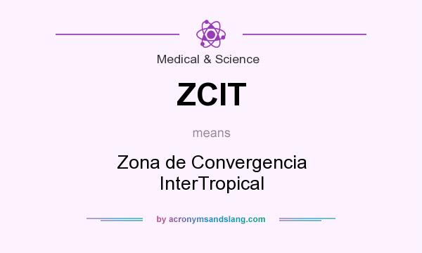 What does ZCIT mean? It stands for Zona de Convergencia InterTropical