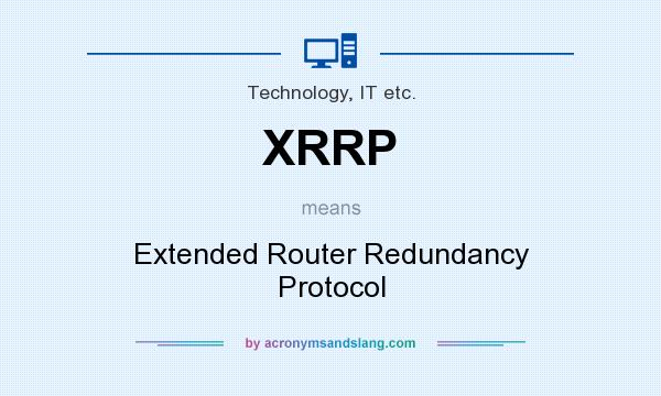 What does XRRP mean? - Definit...