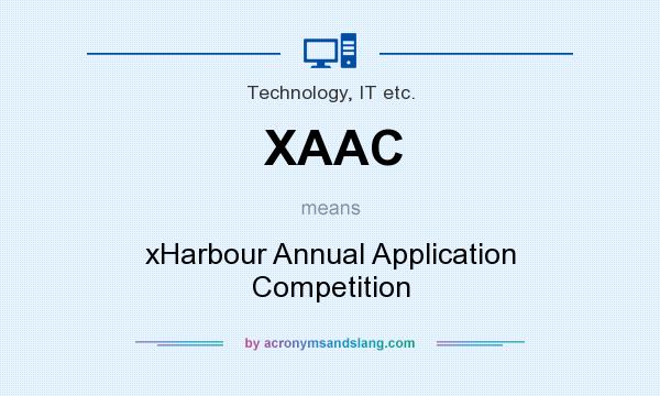 What does XAAC mean? It stands for xHarbour Annual Application Competition