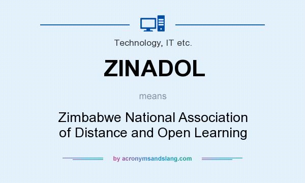 What does ZINADOL mean? It stands for Zimbabwe National Association of Distance and Open Learning