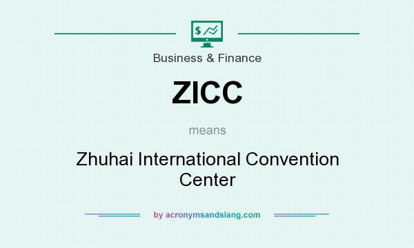 What does ZICC mean? It stands for Zhuhai International Convention Center