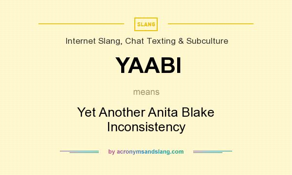What does YAABI mean? It stands for Yet Another Anita Blake Inconsistency