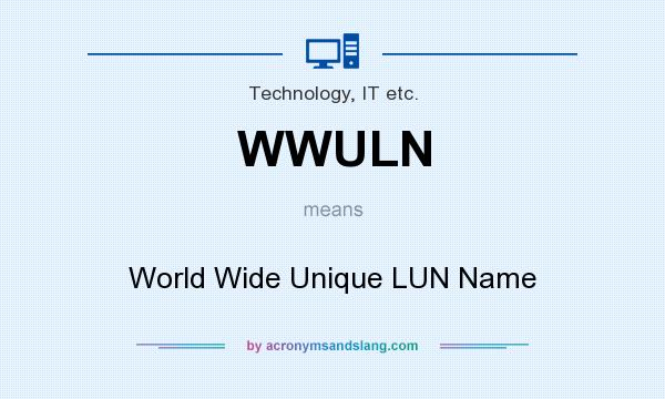 What does WWULN mean? - Definition of WWULN - WWULN stands