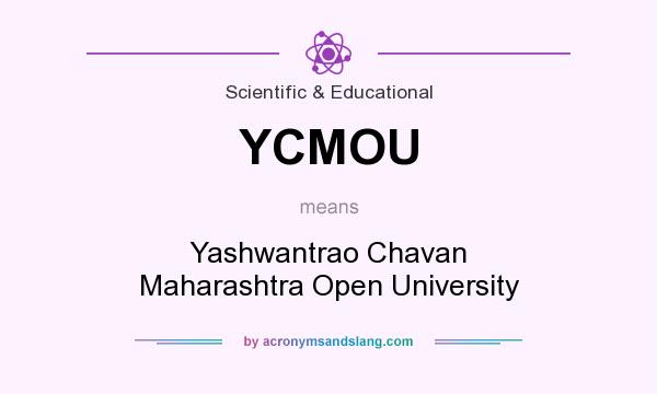 What does YCMOU mean? It stands for Yashwantrao Chavan Maharashtra Open University