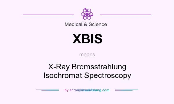 What does XBIS mean? It stands for X-Ray Bremsstrahlung Isochromat Spectroscopy