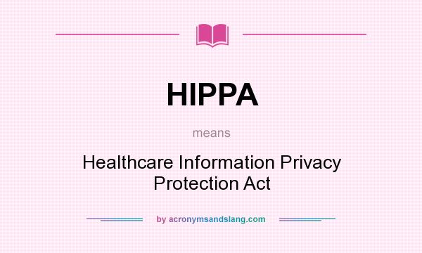 hippa and info technology According to their interpretations of hipaa, hospitals will not reveal information over the phone to information technology documentation should also include a.